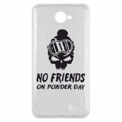 Чехол для Huawei Y7 2017 No friends on powder day - FatLine