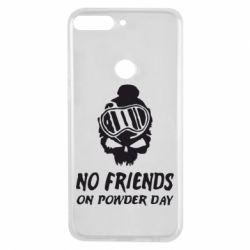 Чехол для Huawei Y7 Prime 2018 No friends on powder day - FatLine