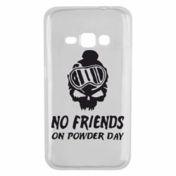 Чехол для Samsung J1 2016 No friends on powder day