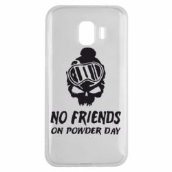 Чехол для Samsung J2 2018 No friends on powder day