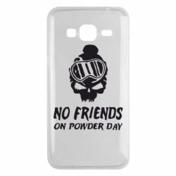 Чехол для Samsung J3 2016 No friends on powder day