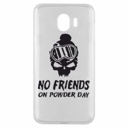 Чехол для Samsung J4 No friends on powder day