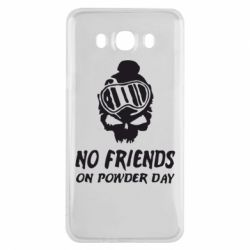 Чехол для Samsung J7 2016 No friends on powder day