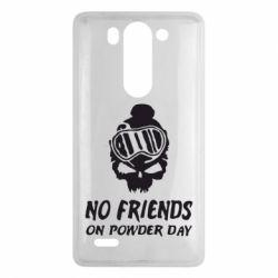 Чехол для LG G3 mini/G3s No friends on powder day - FatLine