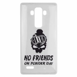 Чехол для LG G4 No friends on powder day - FatLine