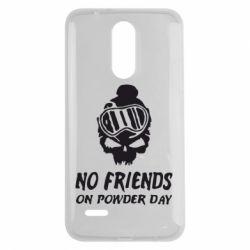 Чехол для LG K7 2017 No friends on powder day - FatLine