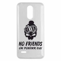 Чехол для LG K8 2017 No friends on powder day - FatLine