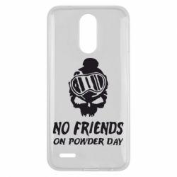 Чехол для LG K10 2017 No friends on powder day - FatLine