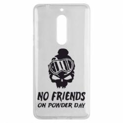 Чехол для Nokia 5 No friends on powder day - FatLine