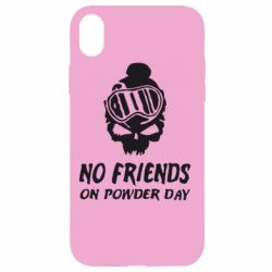 Чехол для iPhone XR No friends on powder day