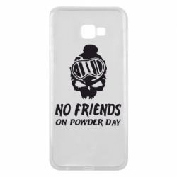 Чехол для Samsung J4 Plus 2018 No friends on powder day