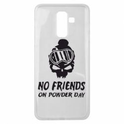 Чехол для Samsung J8 2018 No friends on powder day