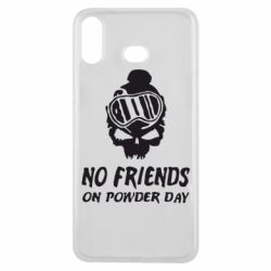 Чехол для Samsung A6s No friends on powder day