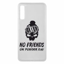 Чехол для Samsung A7 2018 No friends on powder day