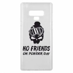 Чехол для Samsung Note 9 No friends on powder day