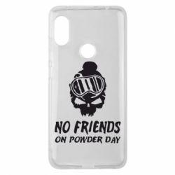 Чехол для Xiaomi Redmi Note 6 Pro No friends on powder day - FatLine