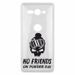 Чехол для Sony Xperia XZ2 Compact No friends on powder day - FatLine