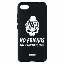 Чехол для Xiaomi Redmi 6A No friends on powder day - FatLine