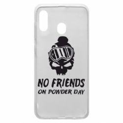 Чехол для Samsung A30 No friends on powder day