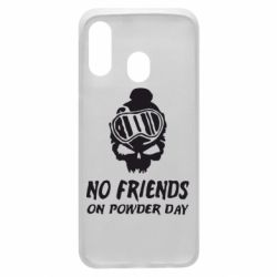 Чехол для Samsung A40 No friends on powder day