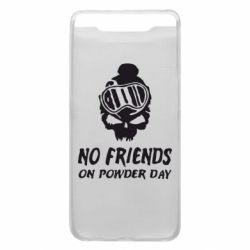 Чехол для Samsung A80 No friends on powder day