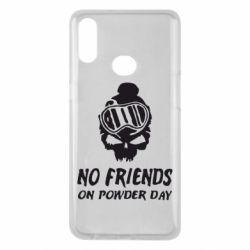 Чехол для Samsung A10s No friends on powder day