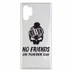 Чехол для Samsung Note 10 Plus No friends on powder day