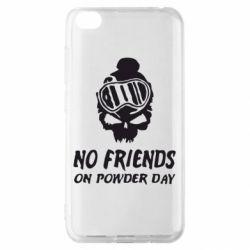 Чехол для Xiaomi Redmi Go No friends on powder day