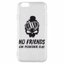 Чехол для iPhone 6/6S No friends on powder day