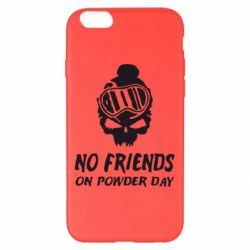 Чехол для iPhone 6 Plus/6S Plus No friends on powder day