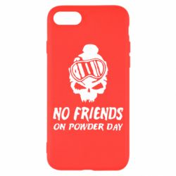 Чехол для iPhone 7 No friends on powder day