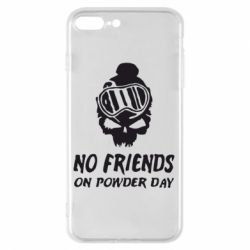 Чехол для iPhone 7 Plus No friends on powder day