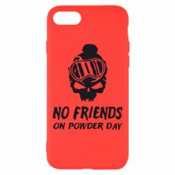 Чехол для iPhone 8 No friends on powder day