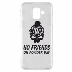 Чехол для Samsung A6 2018 No friends on powder day