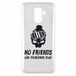 Чехол для Samsung A6+ 2018 No friends on powder day