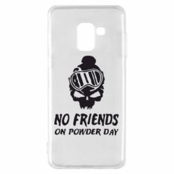 Чехол для Samsung A8 2018 No friends on powder day