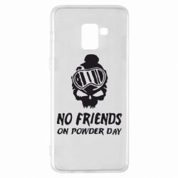 Чехол для Samsung A8+ 2018 No friends on powder day