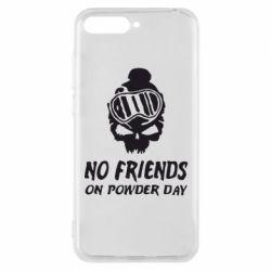 Чехол для Huawei Y6 2018 No friends on powder day - FatLine