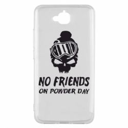 Чехол для Huawei Y6 Pro No friends on powder day - FatLine