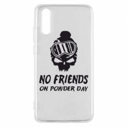 Чехол для Huawei P20 No friends on powder day - FatLine