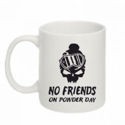 Кружка 320ml No friends on powder day - FatLine