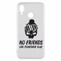 Чехол для Huawei P20 Lite No friends on powder day - FatLine