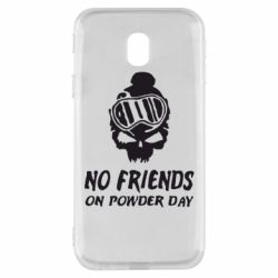 Чехол для Samsung J3 2017 No friends on powder day
