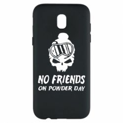 Чехол для Samsung J5 2017 No friends on powder day