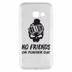 Чехол для Samsung A3 2017 No friends on powder day