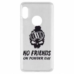Чехол для Xiaomi Redmi Note 5 No friends on powder day - FatLine