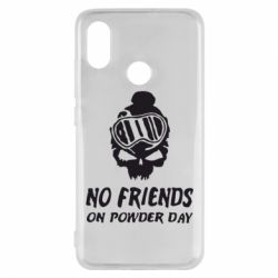 Чехол для Xiaomi Mi8 No friends on powder day