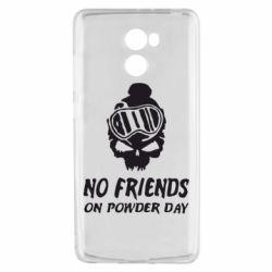 Чехол для Xiaomi Redmi 4 No friends on powder day - FatLine