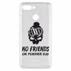 Чехол для Xiaomi Redmi 6 No friends on powder day - FatLine