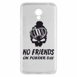 Чехол для Meizu M5c No friends on powder day - FatLine